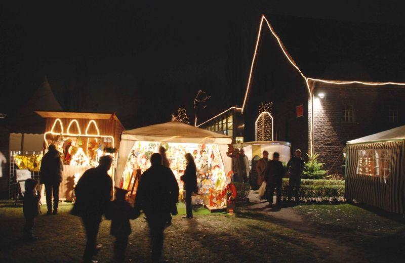 Weihnachtsmarkt Heute Nrw.Weihnachtsmarkt Auf Hof Holz In Gelsenkirchen