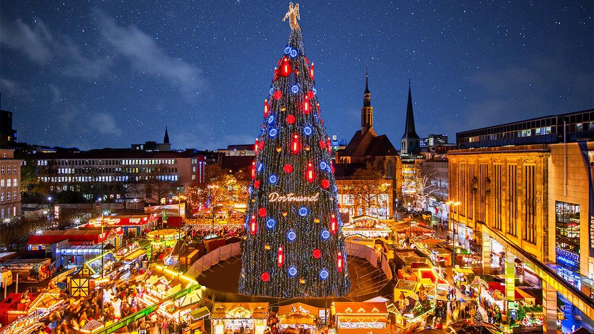 Dortmund Weihnachtsbaum.Weihnachtsmarkt Dortmund Geht In Die 120 Runde